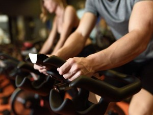 indoor cycling a spinning